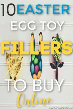 10 Easter Egg Toy Fillers to Buy Online - Finance tips, saving money, budgeting planner Easter Activities, Easter Crafts For Kids, Easter Party, Easter Gift, Craft Stick Crafts, Diy Crafts, Egg Toys, Egg Hunt, Easter Baskets