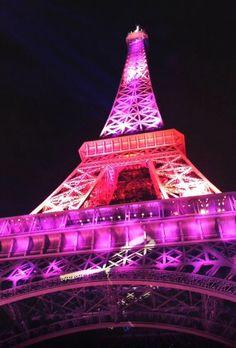 torre eiffel rosa con negro - Buscar con Google