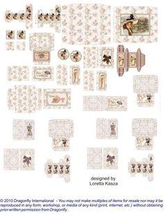 DF Ladies' Pink & Lavender Boxes - SB111
