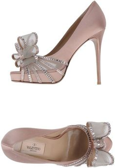 Valentino ~ Pumps with Open Toe