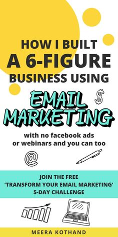 Looking for an easier way to create (and  stick to) an email marketing plan? If the idea of putting in place an email  marketing strategy for your business sounds complicated, this free 5-day  challenge will help! You'll discover the right strategy to nail your opt-in  freebie, sequences and come up with an email editorial calendar. Click to  sign-up. #smallbusiness #emailmarketing #email #bloggingtips