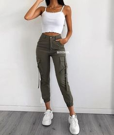 45 Impressive and Cute Summer Outfits Ideas to Try Now Teen Fashion Outfits, Fashion Mode, Look Fashion, Outfits For Teens, Fashion Hair, Daily Fashion, Fashion Clothes, Fashion Ideas, Cute Casual Outfits
