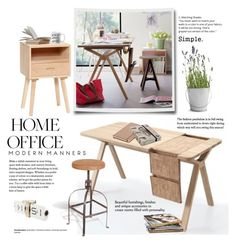 """""""Work Hard: Home Office"""" by cruzeirodotejo ❤ liked on Polyvore featuring interior, interiors, interior design, home, home decor, interior decorating, Hübsch, Potting Shed Creations, Kate Spade and NOVICA"""