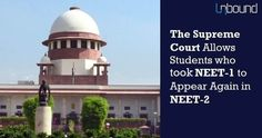 "The Supreme Court has revised its earlier order given on Friday and has decided to allow those students, who appeared for NEET I, to take NEET II.ALSO READ :  e Supreme Court-States Can not Hold Separate Exam Must Follow NEETe Court on Friday had said that NEET-II, scheduled for July 24, will allow only those candidates who failed to appear in the May 1 NEET-I exam. e court had passed that order after the Counsel for MCI argued that it was a ""misconceived"" argument that students who appeared"