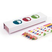 Penny Scallan Juicy Apple Pencil Box with Pencils #mamadoo #backtoschool