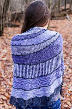 Exploration station shawl by In color order