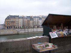 I heart book stalls -  a key location in Christopher Angel's novel, The Mona Lisa Speaks!
