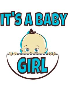 IT's a baby girl Smurfs, Pregnancy, Clip Art, Baby, Fictional Characters, Design, Newborns, Infant, Baby Baby