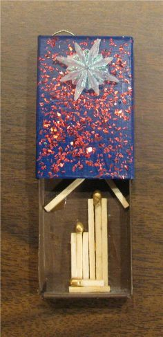 Matchbox Nativity - This is great! You could keep a Nativity in your pocket!: