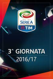 Serie A - 3^ giornata