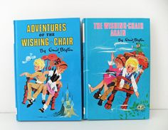 Enid Blyton Books - had such a vast library of Enid Blyton books, fantastic author for kids, loved them !