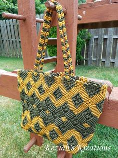 READY TO SHIP Macrame bag Macrame purse Macrame shoulder purse