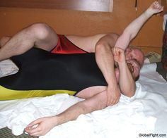 red bearded gay men wrestling bedroom hotel pictures