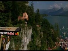 Red Bull Cliff Diving: Quint-Half (five flips with a half twist)