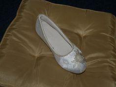 Extremely comfortable bridal ivory SHOE Vegan and by NewBrideCo, $69.00