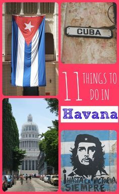 Heading to Havana, Cuba?  Check out 11 things to do in the Cuban capital!