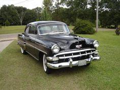 1954 Chevrolet 2-door, black exterior