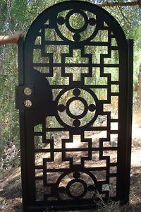 Contemporary Metal Gate Wholesale On Sale Ornamental Designer Art Iron Garden Ebay Contemporary Gates Gate Design Iron Garden Gates