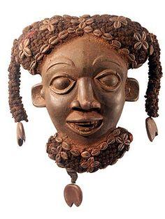 Bamileke mask. Cameroon