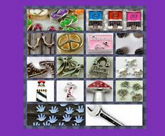 Looking for #Charms? #SerendipityStyles has charms to put into your #Locket. #Food #Occupations #Animals #Flowers #Holidays #Religion #Diva #Causes and more. Check out my store at www.shopserendipitystyles.com/#Kshumate. #SSRepKshumate #Letters #BirthStones