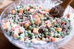Pea Salad The Pioneer Woman Cooks The Pioneer Woman, Pioneer Woman Pea Salad, Pioneer Woman Recipes, Pioneer Women, Ree Drummond, Paula Deen, Lactuca Sativa, Pea Salad Recipes, Cooking Recipes