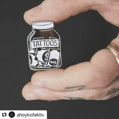 You can't have just 1.. or 5.. or 7. Pin by @ahoykollektiv  Save your money for tattoos - enamel pin Silver black and white - Limited edition 100pcs  Design by @slvmontanari  Shop link in their bio. #ahoykollektiv #tattoos  #enamelpin #pin #moneyjar #tattoo #tattoos #tattooed #tattoomoney #illustration #enamelpins #pins #graphicdesign #slvmontanari #silviamontanari #illustrations #ink #illustrationoftheday #tattooedpeople #pinstagram #pincommunity #pinlord #softenamelpin #pinoftheday…