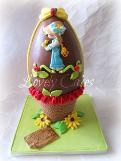EASTER Sarah kay Cake by LovelyCakes