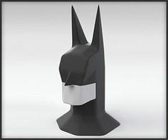 Batman Head Sculpture