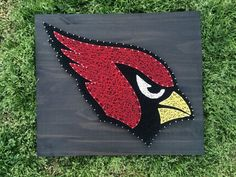 MADE TO ORDER Arizona Cardinals String Art Board by KailsStringArt