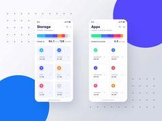 Free Storage App Template (PSD) Ui Design Mobile, Ios App Design, User Interface Design, Design Thinking, Dashboard App, Car App, Mobile Ui Patterns, Logos Ideas, App Design Inspiration