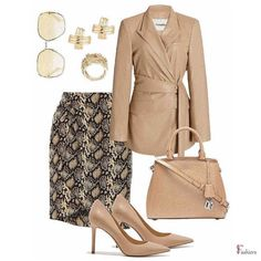Work Fashion, Trendy Fashion, High Fashion, Simple Site, Trendy Girl, Pump Shoes, Pumps, Blazer Fashion, Second Skin