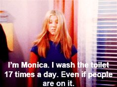 Spring cleaning tips from everyone's favorite Clean Queen - Monica Geller!! I saw this and laughed sooo hard!!!