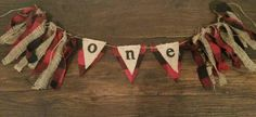 Customize this burlap and buffalo plaid banner! High chair banner, Lumberjack, Valentines, woodland party, photo prop, baby shower, marry me by EclecticSoirees on Etsy https://www.etsy.com/listing/213594072/customize-this-burlap-and-buffalo-plaid