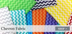 Chevron Fabric via warehouse fabrics inc (inexpensive and they'll sew it for you)