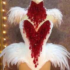 The part of the new Bleeding Swan dress – Dance Costumes Masquerade Costumes, Burlesque Costumes, Carnival Costumes, Dance Costumes, Burlesque Outfit, Showgirl Costume, Samba Costume, Corset Costumes, Vampire Wedding