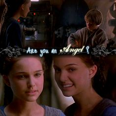 """Little Anakin was so adorable and this scene so sweet, but then I remember that, if this scene had never taken place, and if these two had never met, they wouldn't both be doomed... This part just leaves me with a shiver running down my back, and you can hear the spooky Anakin's Theme playing in the background, foreshadowing what's to come... """"Are you an angel?"""" """"What?"""""""