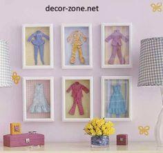 kids room wall decor ideas, wall frames, decorative framework, wall decorations