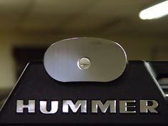 Hummer H2 Chrome Roof Rack letterS and Side Roof rack trim plates, COMBINATION