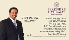 berkshire hathaway real estate business cards simply stated includes free set up - Berkshire Hathaway Business Cards