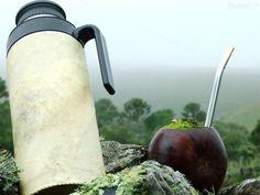 Chimarrão bebida tradicional do sul do Brasil