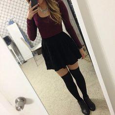 hearttoria @hearttoria Thigh high socks ...Instagram photo   Websta (Webstagram) on We Heart It