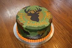 Cakes by Elizabeth: Camouflage Cake