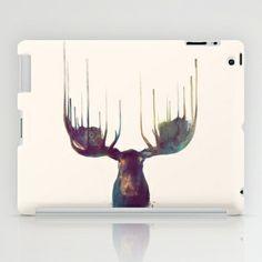 Moose iPad Case by Amy Hamilton - $60.00 society6.com