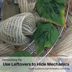 Learn how to soften the back of your DIY wreath so it doesn't scratch your door. #wreathmakingtip How To Make Wreaths, Different Holidays, Deco Mesh Wreaths, Southern Charm, Charmed, Scene Photo, Diy Wreath, Cover, Tips