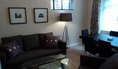 Chantry Court living room, suitable space to relax in.