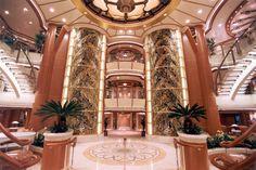 Atrium on the Golden Princess