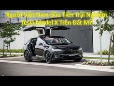 Người Việt Nam Đầu Tiên Trải Nghiệm Xe Điện Tesla Model X trên đất MỸ