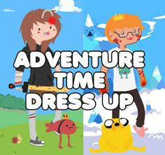 ADVENTURE TIME_ DRESS UP by Huntahr.deviantart.com on @deviantART