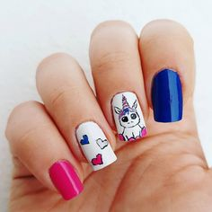 Domi Králiková (@domi_nailart) Baby unicorn #unicornnails #unicornnailart #unicorn #pinkwinter #pinknails #pink #lovepink #bluenails #cutenails #unicorncute #loveunicorns #pinit #follow #followme #nailartist #nailart #naturalnails #nails #whitenails #colorfulnails #colorful #babyunicorn #cute #springnails #waitingforspring #pinnails #avon #avonsk #avonpolish #nailpolish #tryit #perfectnails #partynails #funnynails