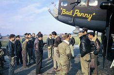 "B-17 ""BAD PENNY, by Robert Capa"